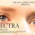 A poster for the Electra performance at the King Alfred School