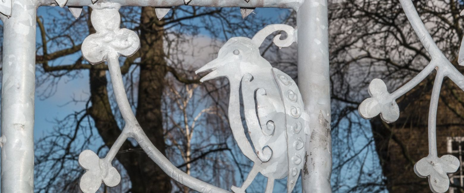 Close up of the School Gates