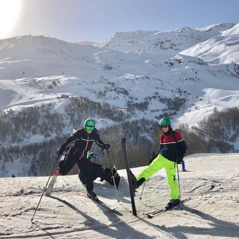 Sixth Formers on School Ski Trip