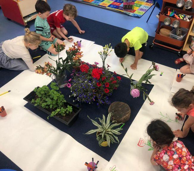 Hands on learning in Lower School