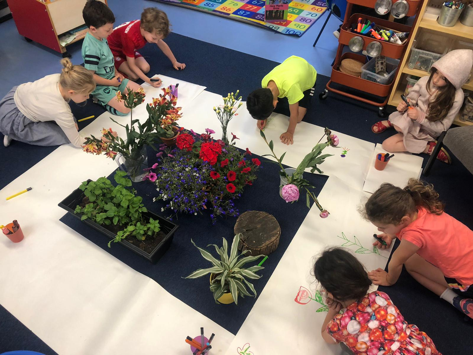 Hands on learning in Lower School