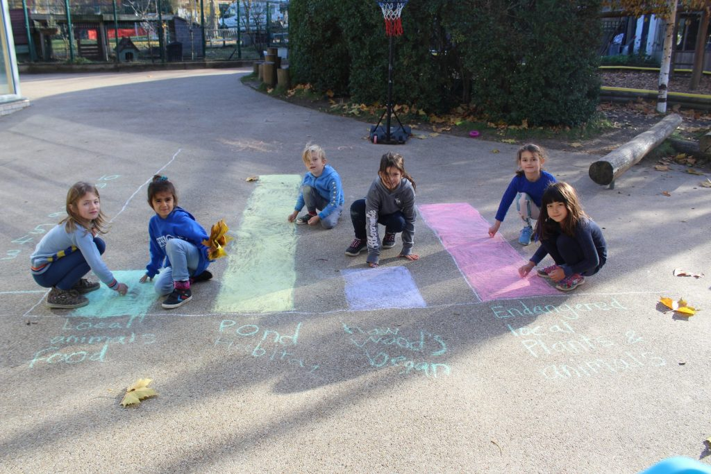 Lower School outdoor maths