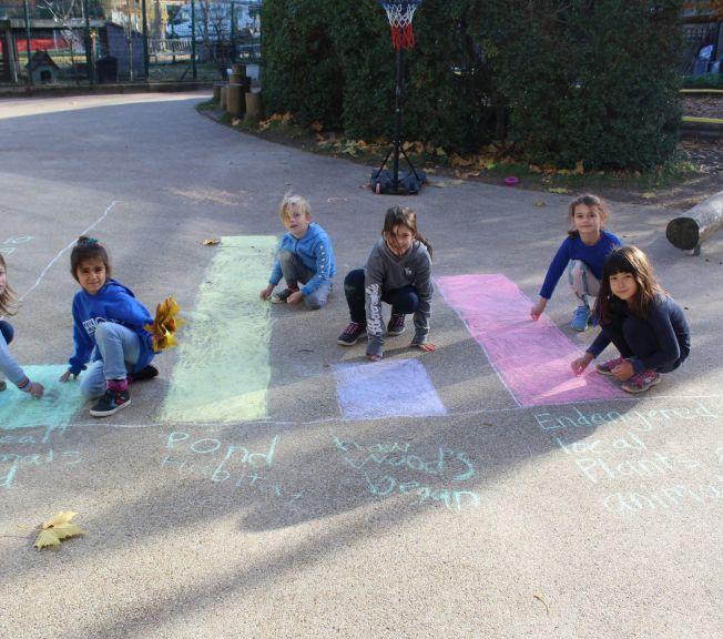 Lower School outdoor maths