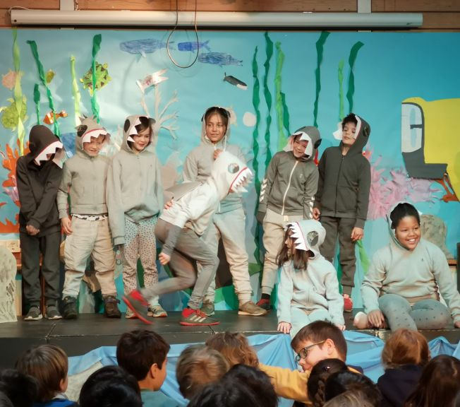 Lower school performance of Under the Sea