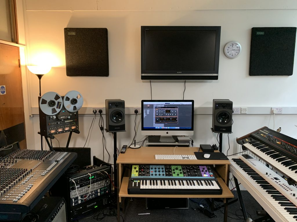 Music tech room