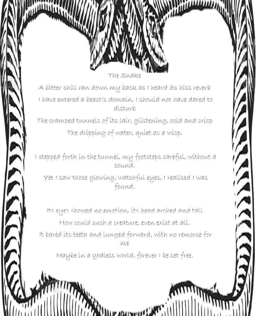 The Snake a poem by Azrael H
