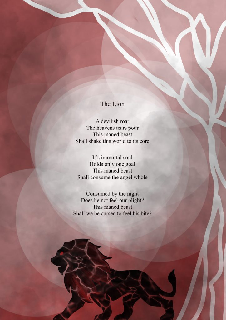 The Lion a poem by Rosalind